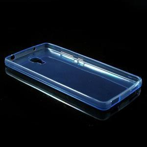 Ultratenký slim gélový obal pre Xiaomi Mi4 - modrý - 3