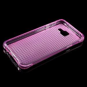 Diamonds gelový obal na Samsung Galaxy A3 (2016) - růžový - 3