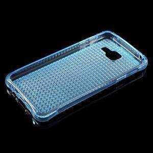 Diamonds gélový obal pre Samsung Galaxy A3 (2016) - modrý - 3