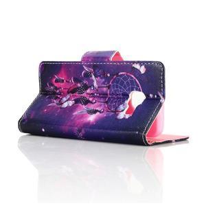 Rich PU kožené pouzdro na mobil Samsung Galaxy A3 (2016) - lapač snů - 3