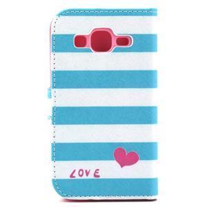 Puzdro na mobil Samsung Galaxy Core Prime - love - 3