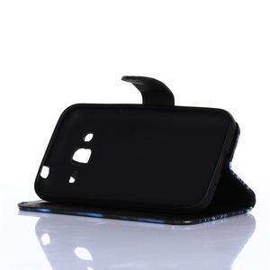 Standy peňaženkové puzdro pre Samsung Galaxy Core Prime - žirafí mafie - 3