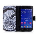 Emotive peňaženkové puzdro pre Samsung Galaxy Core Prime - sova - 3/6