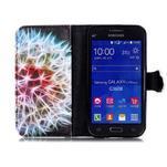 Emotive peněženkové pouzdro na Samsung Galaxy Core Prime - barevná pampeliška - 3/6