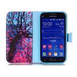 Emotive peňaženkové puzdro pre Samsung Galaxy Core Prime - strom - 3/6