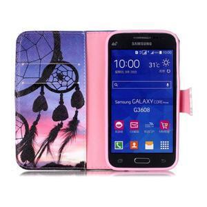Emotive peňaženkové puzdro pre Samsung Galaxy Core Prime - lapač snov - 3