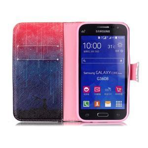 Emotive peňaženkové puzdro pre Samsung Galaxy Core Prime - meteor - 3