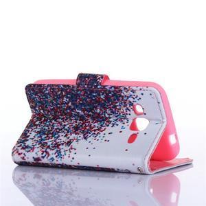 Standy peňaženkové puzdro pre Samsung Galaxy Core Prime - balónky - 3