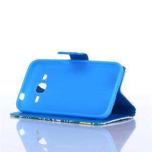 Standy peněženkové pouzdro na Samsung Galaxy Core Prime - citronovník - 3