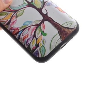 Hardy gélový obal pre mobil Samsung Galaxy Core Prime - malovaný strom - 3