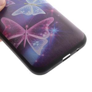 Hardy gélový obal pre mobil Samsung Galaxy Core Prime - čarovné motýle - 3