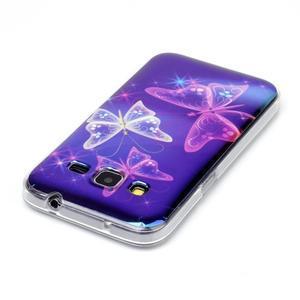 Bluray gelový obal s odlesky na Samsung Galaxy Core Prime - kouzelní motýlci - 3