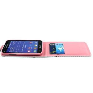 Flipové puzdro pre mobil Samsung Galaxy Core Prime - sovička - 3
