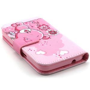 Medvídek peňaženkové puzdro pre Samsung Galaxy Core Prime - 3