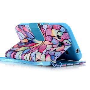 Pictu puzdro pre mobil Samsung Galaxy Core Prime - malované kvety - 3