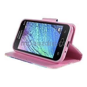 Zapínací puzdro pre Samsung Galaxy J1 - snívanie - 3