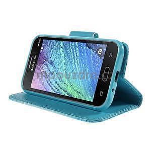 Zapínací puzdro pre Samsung Galaxy J1 - vodní kvetina - 3