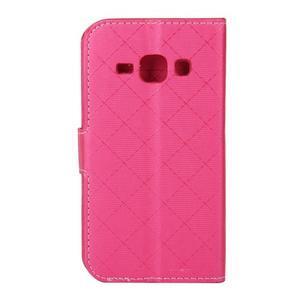 Elegantné puzdro na Samsung Galaxy J1 - rose - 3