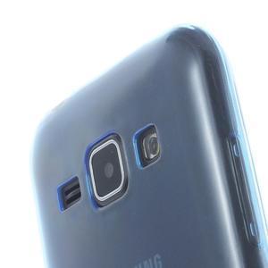 Ultra tenký obal pre Samsung Galaxy J1 - tmavě modrý - 3