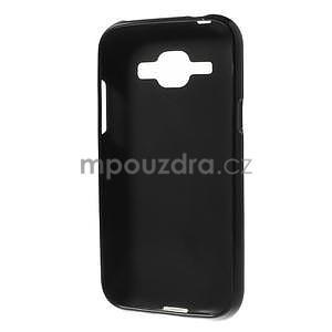 Čierny matný kryt pre Samsung Galaxy J1 - 3