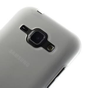 Transparentní matný kryt na Samsung Galaxy J1 - 3