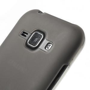 Šedý matný kryt pre Samsung Galaxy J1 - 3