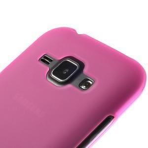Rose matný kryt na Samsung Galaxy J1 - 3