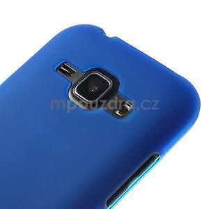 Modrý matný kryt pre Samsung Galaxy J1 - 3