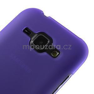 Fialový matný kryt pre Samsung Galaxy J1 - 3