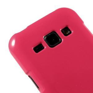 Rose gélový obal na Samsung Galaxy J1 - 3