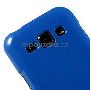 Modrý gélový obal na Samsung Galaxy J1 - 3