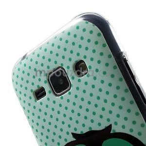 Gélový kryt pre Samsung Galaxy J1 - sova - 3