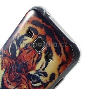 Gélový kryt na Samsung Galaxy J1 - tygr - 3