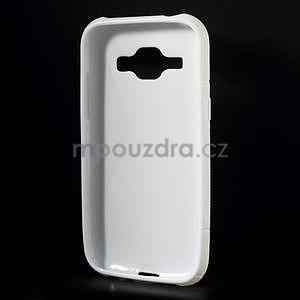 Biely gélový s-line obal Samsung Galaxy J1 - 3