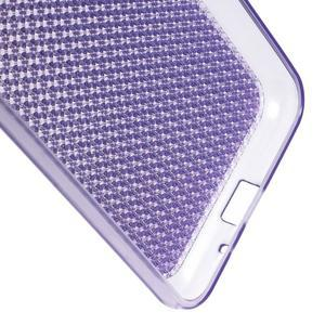 Diamond gelový obal na mobil Samsung Galaxy J3 (2016) - fialový - 3
