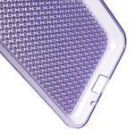 Diamond gelový obal na mobil Samsung Galaxy J3 (2016) - fialový - 3/3