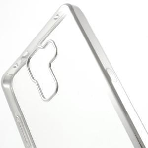 Gelový obal se stříbrným obvodem na Samsung Galaxy J3 (2016) - 3