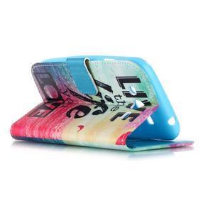Pictu peněženkové pouzdro na Samsung Galaxy J5 - love - 3