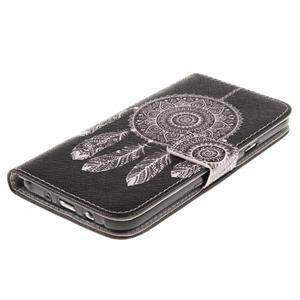Standy peňaženkové puzdro pre Samsung Galaxy J5 - lapač snov - 3