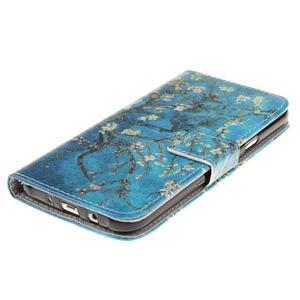 Standy peněženkové pouzdro na Samsung Galaxy J5 - kvetoucí strom - 3