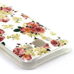Imda gélový obal pre mobil Samsung Galaxy J5 - kvety - 3