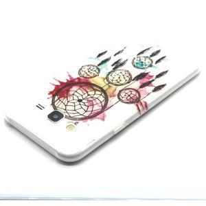 Trasnparent gelový obal na Samsung Galaxy J5 - lapač snů - 3