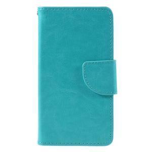 Peňaženkové puzdro pre mobil Samsung Galaxy J5 - modré - 3