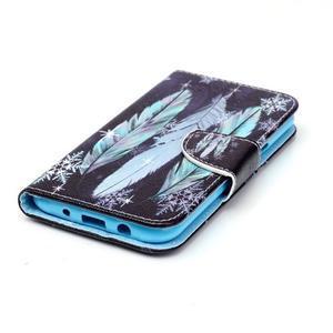 Emotive pouzdro na mobil Samsung Galaxy J5 - barevná peříčka - 3