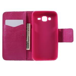 Dairy peňaženkové puzdro pre Samsung Galaxy J5 - srdca - 3
