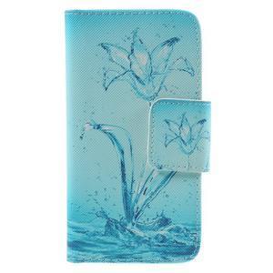 Dairy peňaženkové puzdro pre Samsung Galaxy J5 - vodní kvet - 3