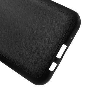 Texturový gelový obal na Samsung Galaxy J5 - černý - 3