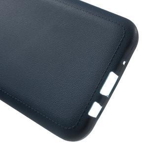Texturový gelový obal na Samsung Galaxy J5 - tmavěmodrý - 3