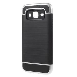 Odolný obal na mobil Samsung Galaxy J5 - stříbrný - 3