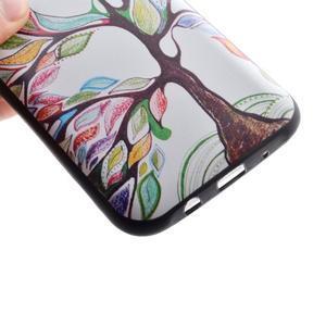 Jelly gélový obal pre mobil Samsung Galaxy J5 - malovaný strom - 3